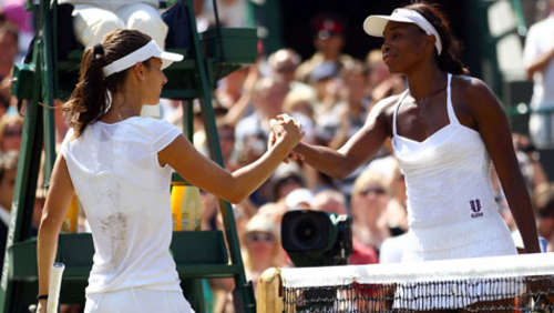Wimbledon: Venus Williams und Clijsters raus