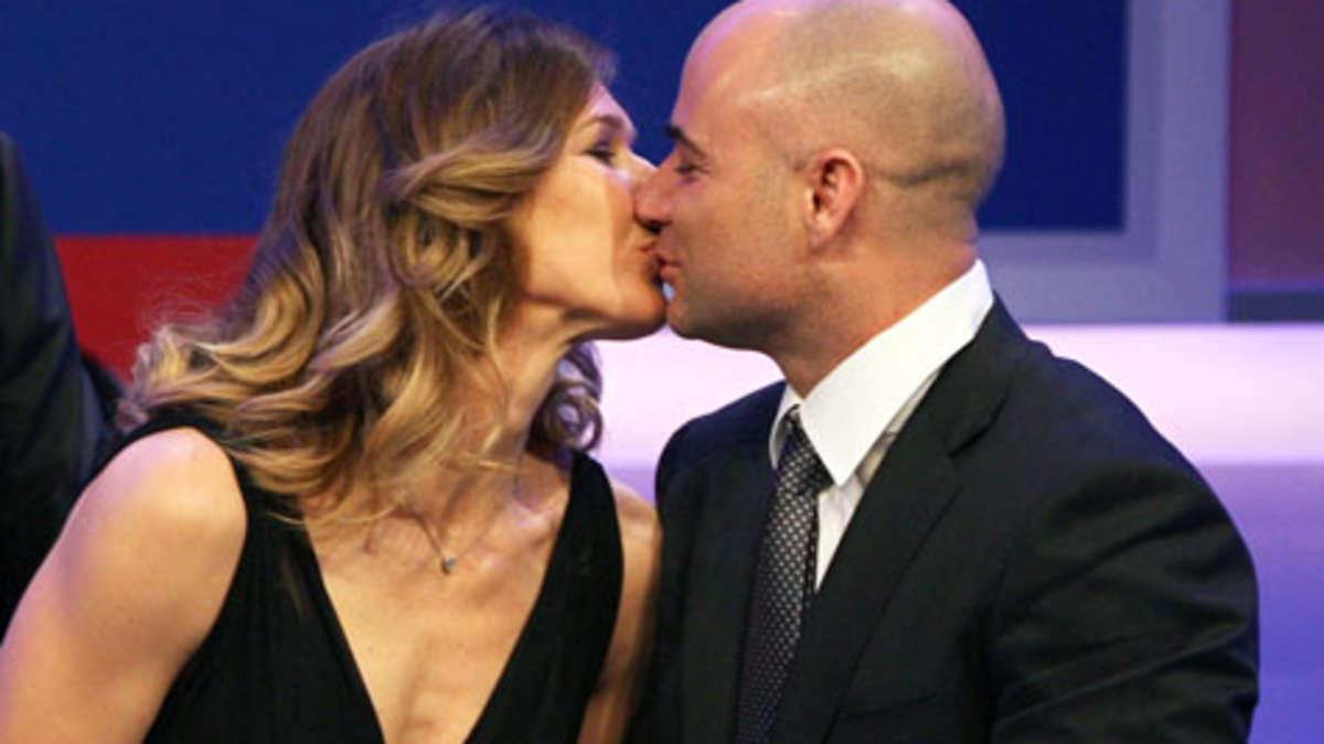 Steffi Graf: Ehemann Andre Agassi zeigt angebliches