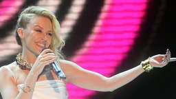 Kylie Minogue weint im TV