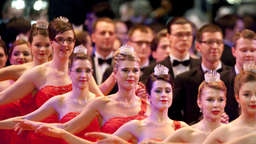 So glanzvoll war der Dresdner Opernball 2012
