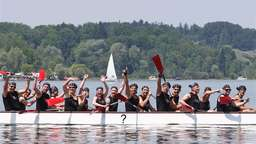 Drachenboot-Cup am Chiemsee