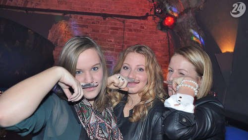 The great Moustache Party! am 30.11.2012