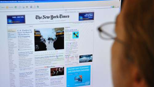 "Hackerangriff auf ""New York Times"""