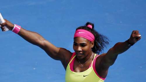 Serena Williams nach Satzverlust in Melbourne weiter