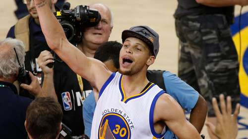 Golden State Warriors ziehen ins NBA-Finale ein