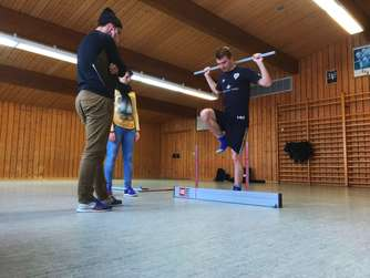 Profi-Training der Amateure