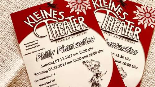 "Kleines Theater Prien spielt ""Philly Phantastico"""