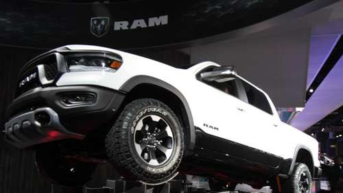 Heavy Metal statt Hightech auf der Motorshow in Detroit