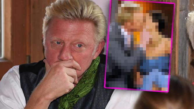 3bcbce8e1ff69f Lilly Becker packt über Boris aus - der feiert mit unbekannter Schönheit  auf dem Oktoberfest