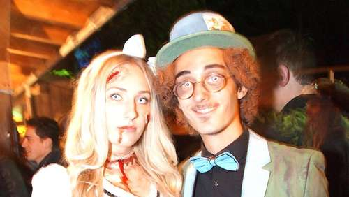 Coole Halloween-Party im Baamhakke bei Piding