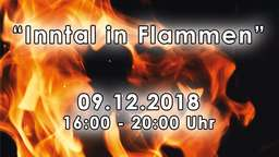 """Inntal in Flammen"" - Protestaktion gegen Brenner-Nordzulauf in Pang"