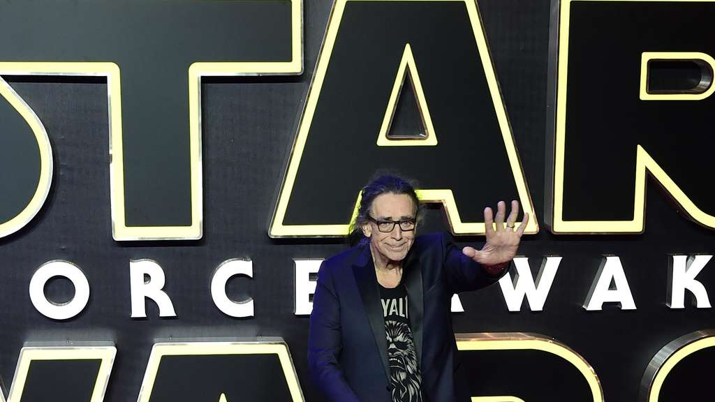 "Peter Mayhew spielte in den ""Star Wars""-Filmen mit."