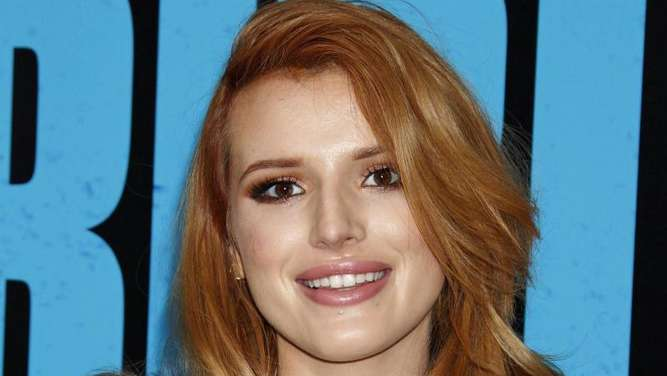 "Schauspielerin Bella Thorne bei der Weltpremiere von ""Horrible Bosses 2"" in Hollywood. Foto: Jimmy Morris"