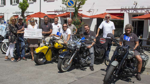 Chiemsee Island Bikers for Kids: 5.555 Euro für Kinderschutzbund