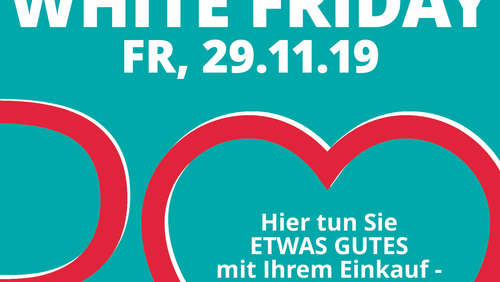 Am 29. November: Erster White Friday in Rosenheim