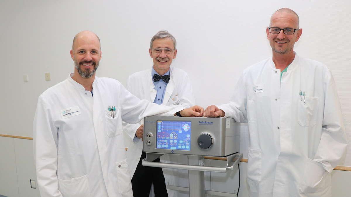 Bad Aibling: Die RoMed-Klinik hat ein neues Beatmungsgerät   Bad Aibling - mangfall24.de