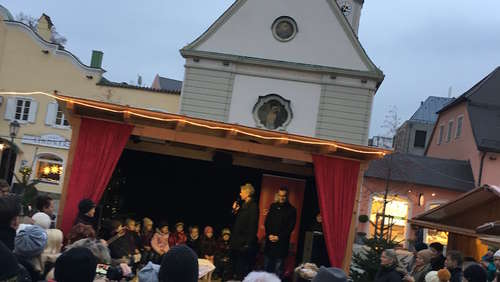 Christkindlmarkt in Bad Aibling startet am 29. November um 16 Uhr