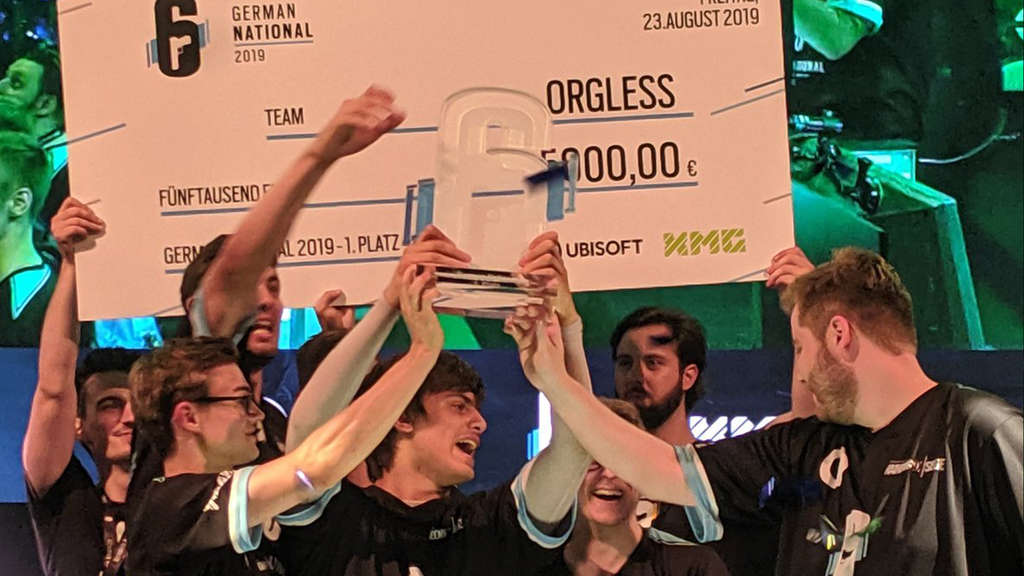 Orgless: Der deutsche Finalist für den Rainbow Six Siege Clash of Nations.