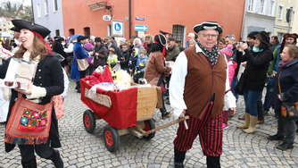 Faschingsumzug in Wasserburg (2)