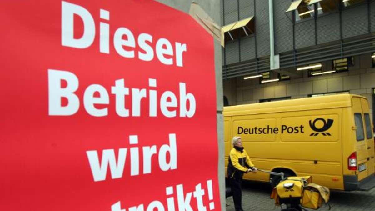 Streik Post Verdi